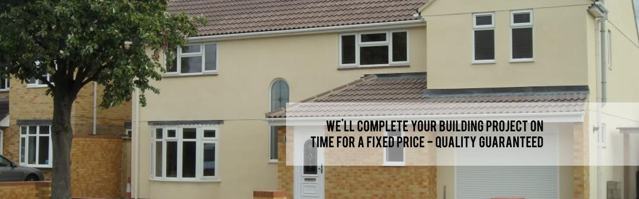 Building projects on time for a fixed price - quality guaranteed - a. p. berrystone builders of swindon